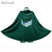 Attack On Titan Cosplay Costume Scout Legion Levi Ackerman Cloak Anime Cartoon Hoodies Halloween Party Cloth
