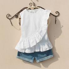 868091e1a Promoción de Blanco Blusa De La Escuela - Compra Blanco Blusa De La ...
