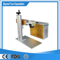 High accurancy high tech cnc router 20w fiber laser marking