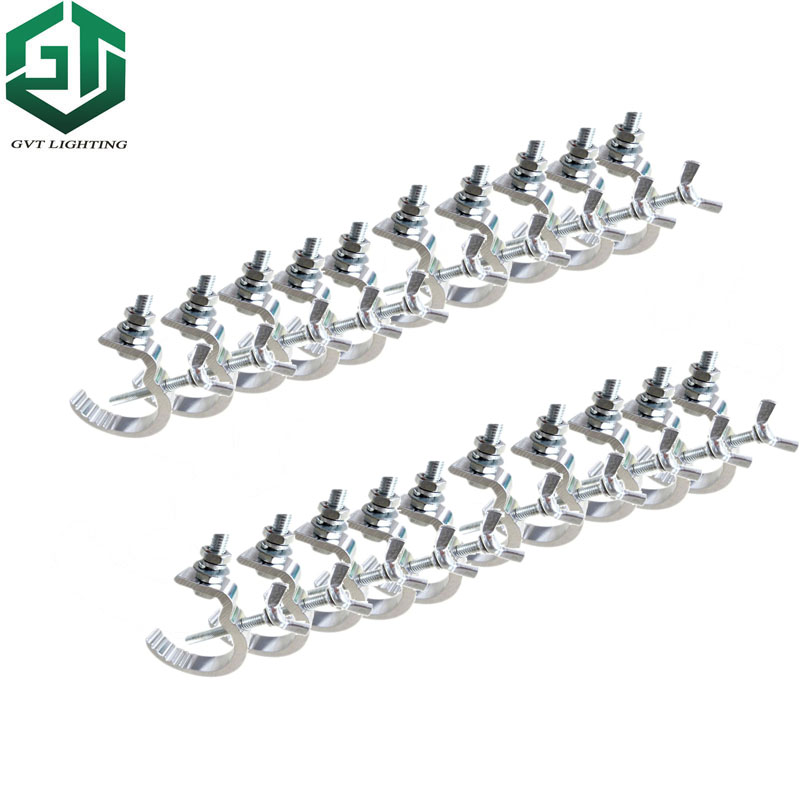 Fast Shipping 20pcs/lot High Quality Aluminium Material Light Hook  20 Pieces Led Par Moving Head Light Clamp