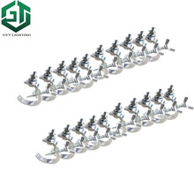 Schnelles verschiffen 20 teile/los Hohe qualität Aluminium material Licht haken 20 stück led par moving head Licht klemme