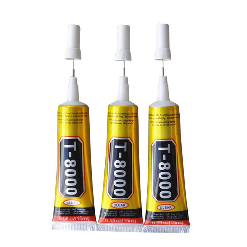 'The Best' T7000/T8000 Glue Epoxy Resin Clear Adhesive Needle Type Phone  Screen Repairing Tool 889