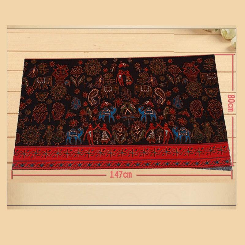 Algodão egípcio fabric145cm * 80cm1pc algodão/tecido de linho telas retalhos impressão egípcia costura roupas diy/casa pano estofando