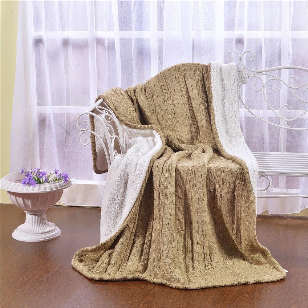 Adult Solid  Color Bed Blanket