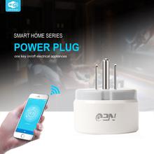 WiFi US Smart Plug Remote control Wireless Smart home Appliance Power ON OFF via App Working with Amazon Alexa and Google cheap NAS-WR02W