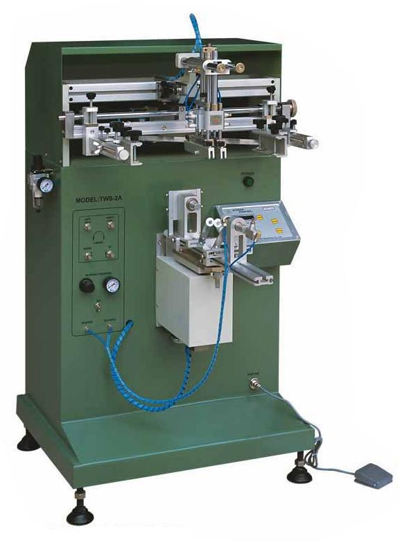 цена Pneumatic flat/round screen printing machine for cup/bottles/mugs/cosmetic bottles