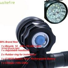 T6 LEDจักรยานไฟจักรยานไฟฉายโคมไฟLuces Bicicletasอุปกรณ์เสริม XML