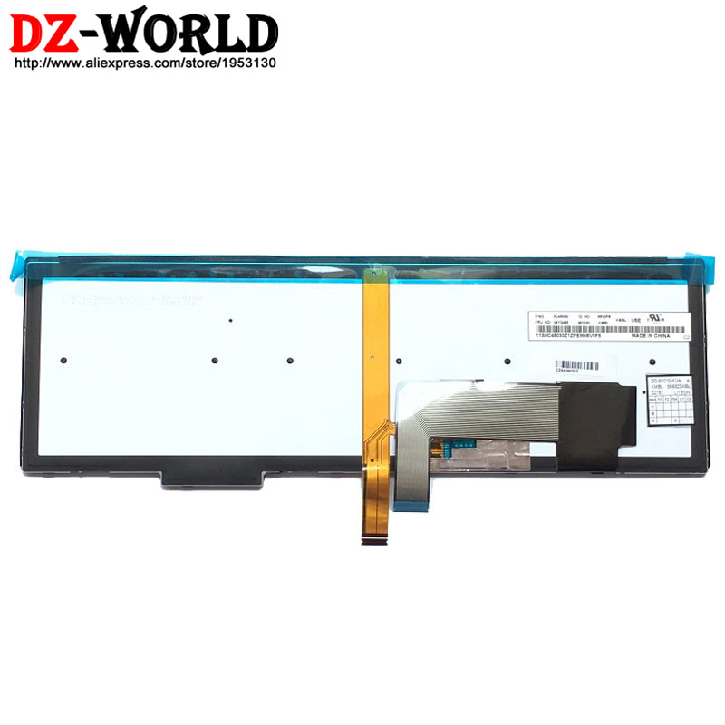 Image 2 - New/Orig US English Backlit Keyboard for Thinkpad T540P W540 W541 T550 W550S T560 P50S Backlight Teclado 04Y2465 04Y2387 0C45030-in Replacement Keyboards from Computer & Office