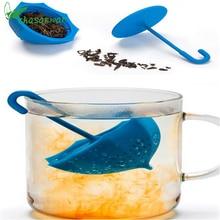 1Pcs Kitchen Accessories Teapot for Kitchen Silicone Umbrella Tea Maker Coffee Tea Sets Kitchen Goods
