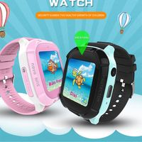 Smart Watch Kids Real Time Tracking Wristwatch Waterproof Baby Watch Voice Chat Breathing Lamop Children Smartwatch