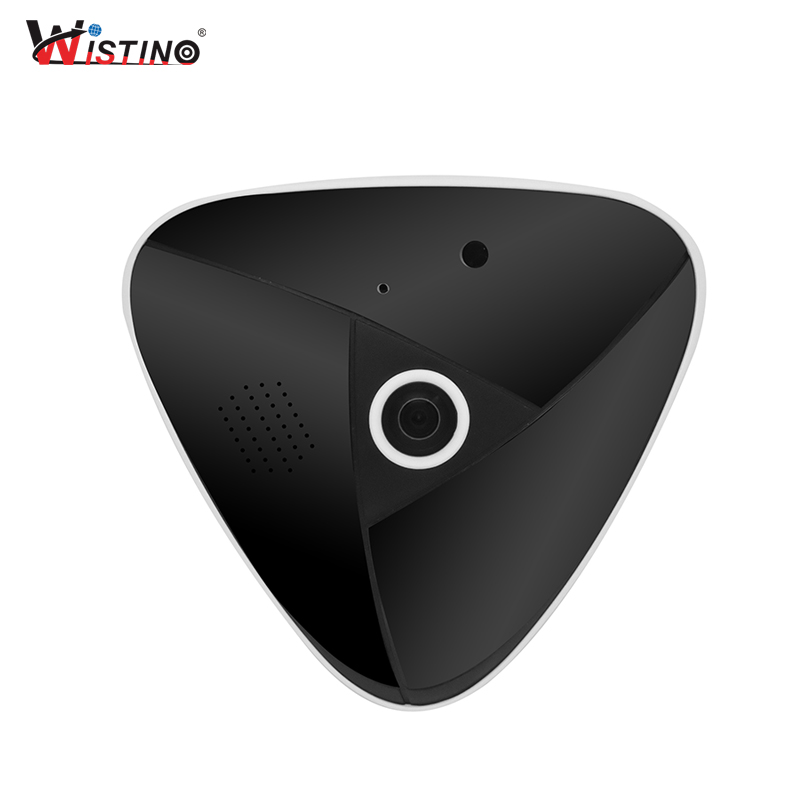 Wistino HD 3MP CCTV VR Panorama Camera Wifi Security IP Camera 360 Degree Home Wireless Baby Monitor Video Audio Surveillance цена и фото