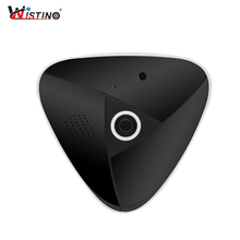 Wistino HD 3MP CCTV VR Panorama Camera Wifi Security IP Camera 360 Degree Home Wireless Baby Monitor Video Audio Surveillance 3mp 3d vr cctv wifi ip camera 360 degree fisheye panorama mini camera night vision wireless home security surveillance camera
