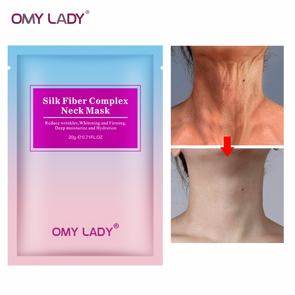 OMYLADY skin Care Neck Pad Neck Tape Wrinkle Pads for Neck Wrinkle Treatment Prevention Anti Wrinkle Remover Drop Ship