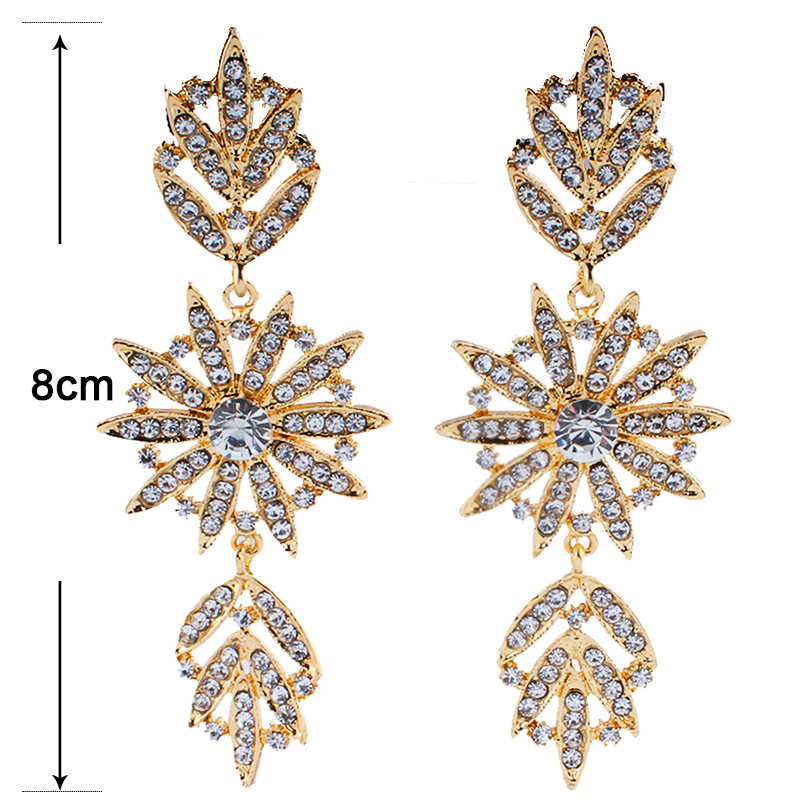 jiayi-jiaduo-Brides-wedding-jewelry-crystal-earrings-for-the-charm-of-women-s-clothing-accessories-gold