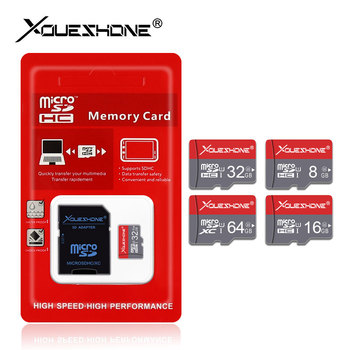 High speed class 10 Micro SD Card mini TF Card 4GB 8GB 16GB 32GB 64GB memory card with Free adapter microsd card pendrive 64GB