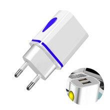 Зарядное устройство с двумя USB портами, 5 В, 2,1 А