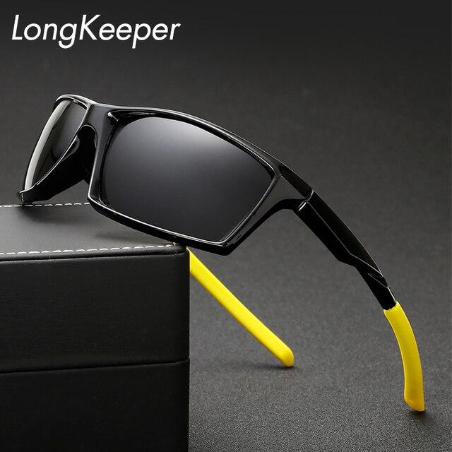 291b3a1bcf58 US $4.45 40% OFF LongKeeper 2017 Polarisierte Sonnenbrille männer Marke  Driving Gläser Bootfahren Brille sport Fahrer Brillen Frauen Männlichen ...