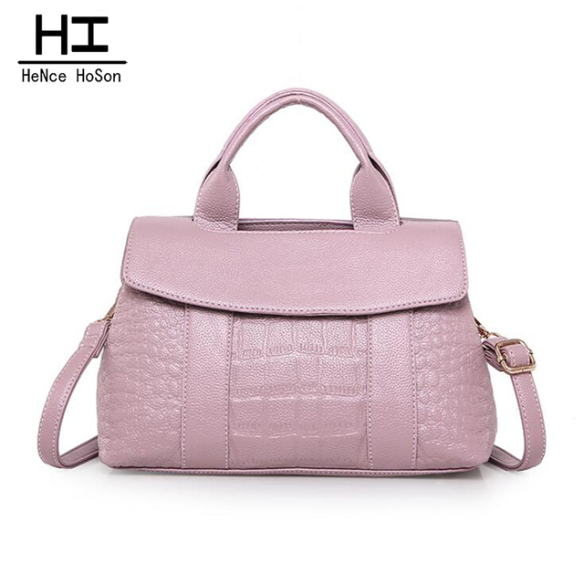 HeNce HoSon New Arrival Fashion Genuine Leather Tassel Bag Handbag For Women Solid Shoulder Crossbody Woman Bags M9064