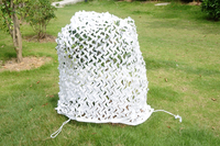 VILEAD 1.5M x 9M (5FT x 29.5FT) Snow White Digital Camouflage Net Military Army Camo Netting Sun Shelter Sun Shade Sail Tent