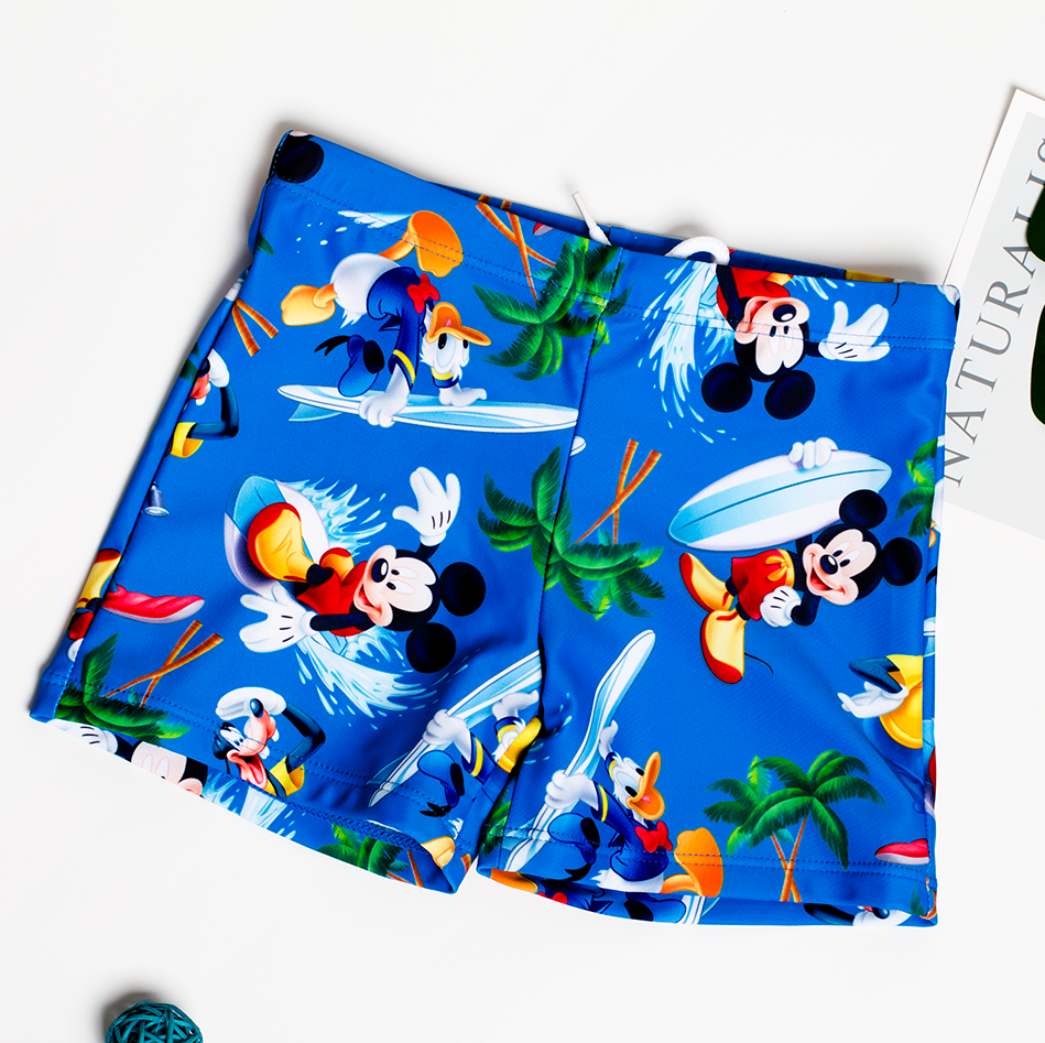 Trunks Bathing-Suit Boys Shorts Kids Beach Summer New For Printed Cartoon Stripe/shark