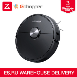 Origional Black Roborock S6 Robot Vacuum Cleaner 50% quiet than S5 Home Automatic Sweeping Dust Sterilize Smart Planned Mopping