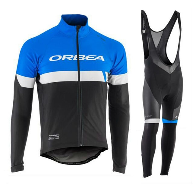 d4e24a175 ORBEA 2018 Team Cycling jersey set long sleeves road bike shirts Breathable  Pro Cycling Clothing MTB maillot Ropa Ciclismo
