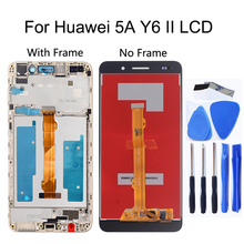 """5.5""""high quality For Huawei 5A Y6 II LCD Display Touch screen Digitizer Assembly With Frame Replacement For Huawei 5A Repair kit все цены"""