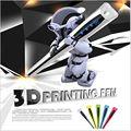 Cuatro generaciones Pluma 3D Impresora MYRIWELL 3D Marca educativos DIY regalos de Dibujo 3D compatible ABS/PLA 3 ABS Libre filamentos