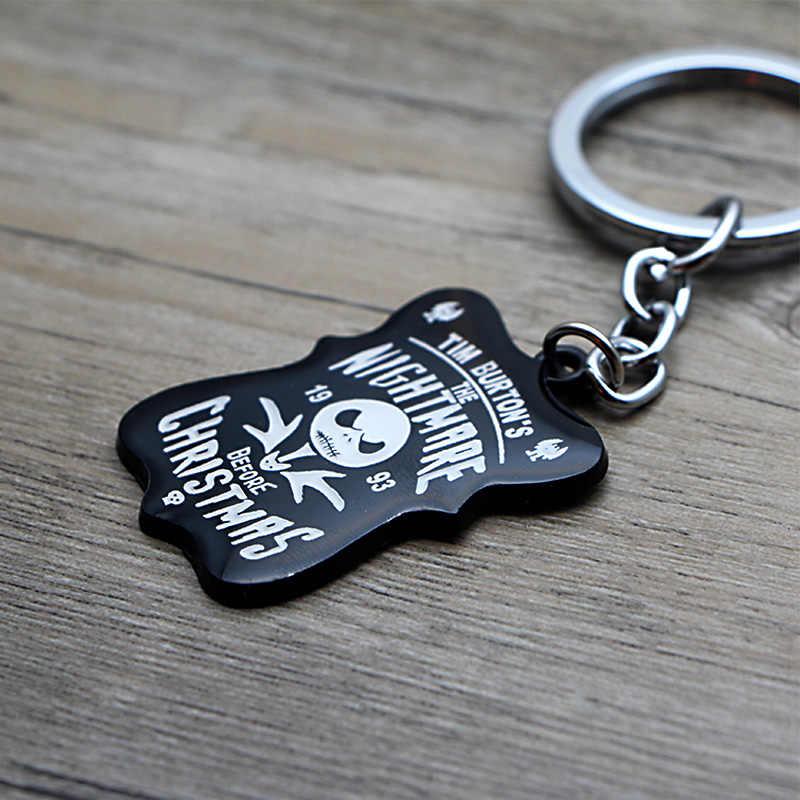K6 Nightmare brelok z bajkową postacią klucze pierścień prezent dla mężczyzn torba dla dzieci wisiorek brelok samochodowy breloki biżuteria