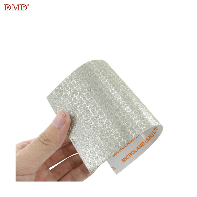 DMD Diamond Woodworking Sandpaper Coated Honeycomb Emery Paper Replacement For Affixed Abrasive Paper #150 #240 #400 #1000