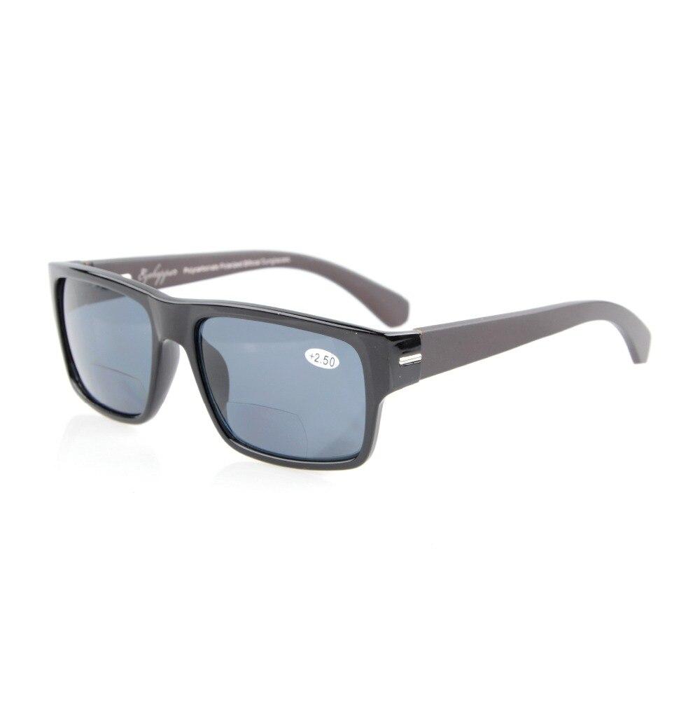 Eyekepper s014pgsg musim semi engsel lengan kayu polikarbonat terpolarisasi  bifocal kacamata sunreaders + 1.50 + 2.00 + 2.50 cd43f2b8b9