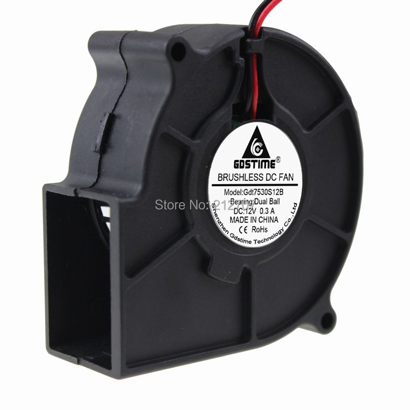 Brushless DC Cooling Fan 50x50x15mm 5015 7 blades 24V 0.08A 2pin Connector US