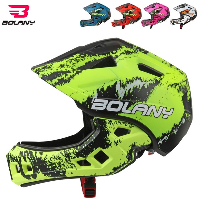 Bolany Children Cycling Helmet Fullface Off Road Dh Mountain Bike