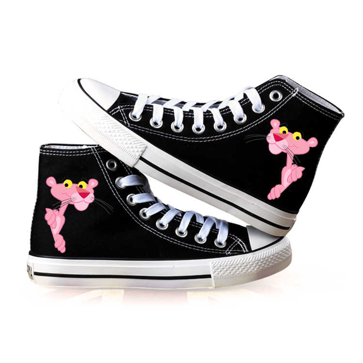 Shoes Woman Animation Pink Panther Hand