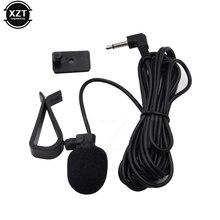Автомобильная Навигация 3,5 мм разъем портативный клип-на Мини Автомобильный Аудио Микрофон проводной микрофон моно внешний микрофон для авто DVD Радио