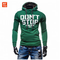 Men's Casual Hip Hop Streetwear Sweatshirt Letters Print Pullover Hoodies Sweatshirts Cotton Tracksuit For Men Outerwear