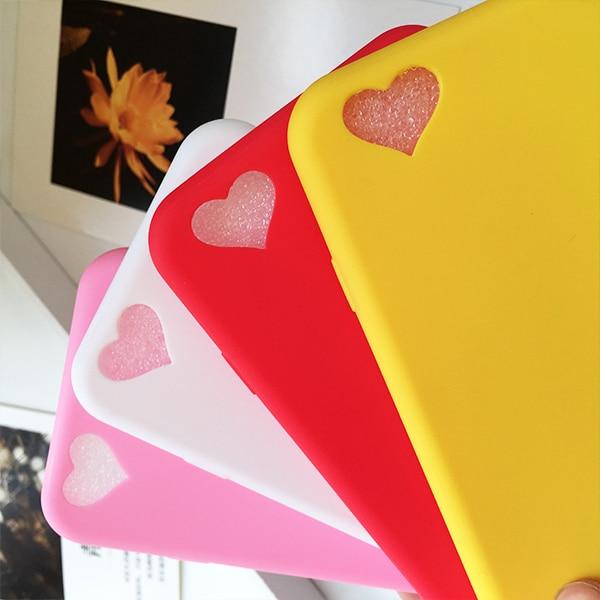 10pcs / Lot Loving Heart Θήκες τηλεφώνου για iPhone - Ανταλλακτικά και αξεσουάρ κινητών τηλεφώνων - Φωτογραφία 3