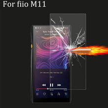 9H Premium Protective Tempered GLass for fiio M11 Case Scratch-Proof Screen Protector Front Film for Fiio M11 M 11 Cover(China)