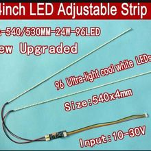 Strip-Kit Ccfl-Panel Led Backlight Adjustable LCD 540mm 20pcs Update Brightness 24inch-Wide
