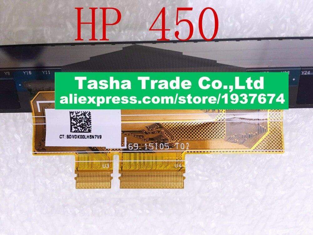 все цены на For HP 450 ProBook 450 G1 Touch] Screen Digitizer Touch Sensor Digitizer PN 69.15i05.T02 Original New онлайн