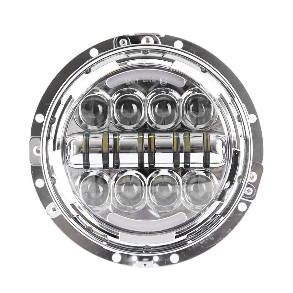 7 inch Round Motorcycle Led Headlight Mounting Ring Bracket for Harley Davidson (7)