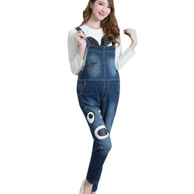 189fd89d5d0 Blue Maternity Denim Overalls Rompers High Waist Suspender Jeans Jumpsuits  For Pregnant Women Pregnancy Causal Bottoms Bib Pants