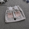 autumn spring kids girls skirt baby cartoon rabbit style cute gray tutu skirt children warm casual clothes school clothing 1-4T