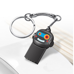 Image 1 - Pendrives USB Flash Drive 32GB lindo dibujos animados 64GB personalizado Mini memoria Flash Stick para regalo de cumpleaños de pareja