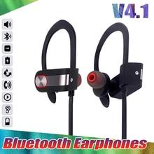20 Pçs/lote DXVROC CSR8635 Stereo Sports Sem Fio Bluetooth 4.1 Fones De Ouvido Baixo Pesado Sweatproof fone de ouvido Com Cancelamento de Ruído com mic DHL Livre