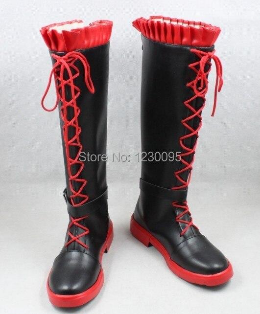 RWBY Cat красный рубин трейлер cos косплей обувь костюм