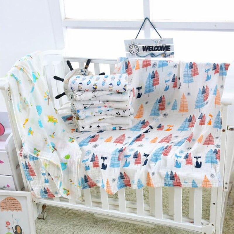 576b372d4e798 Nouveau-né couverture pour bébé Ailes D ange Imprimé Bambou Bébé Literie  Wrap Infantile