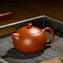Yixing Zisha pot Zhuxi Xi Shi small capacity About 200ml Household purple sand tea set accessories WSHYUFEI