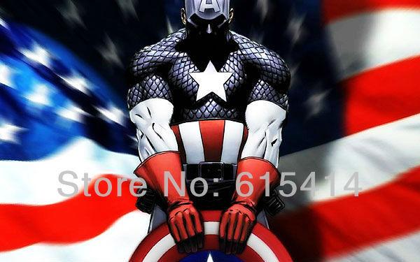 13 Captain America movie 38''x24'' Inch Wallpapr Sticker Poster