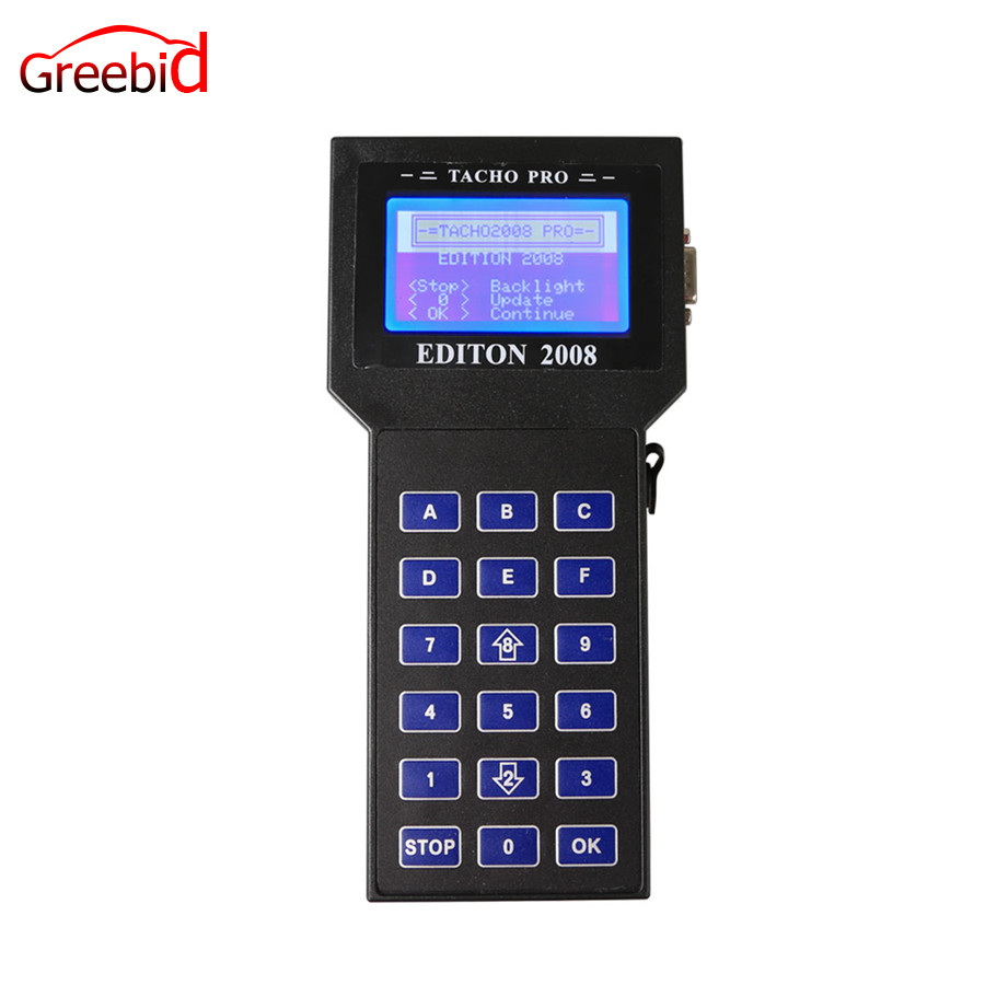 Tacho Pro 2008 July Version Universal Dash Programmer the most sold programming device for digital speedometers worldwide